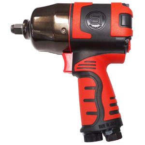 "Shinano 1/2"" Drive 850Nm Pneumatic Impact Wrench - Polymer Body - SI-1490B"