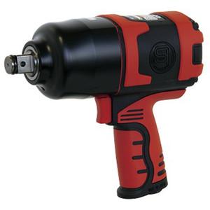 "Shinano 3/4"" Drive 1650Nm Pneumatic Impact Wrench - Polymer Body - SI-1550"