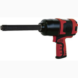 """Shinano 3/4"""" Drive 1550Nm Pneumatic Impact Wrench with 6"""" Extended Anvil - SI-1556"""