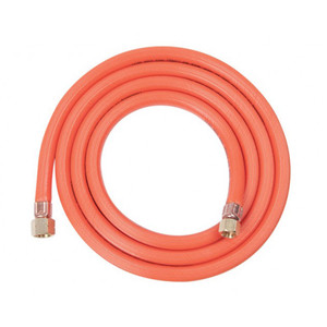 """Tradeflame 2m Gas Hose 3/8"""" BSP Left Hand and 1/4"""" BSP - BK8179"""