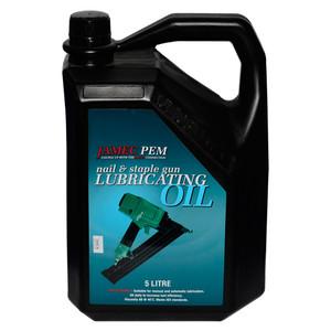 Jamec Pem Nail/Staple Gun Oil 5Lt - 06-2242