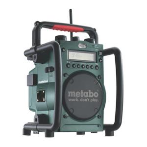 Metabo 14.4/18V Cordless Charging Worksite Radio 'Skin' - RC 14.4-18