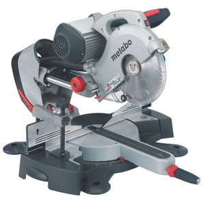 Metabo 1,800W 254mm Sliding Cross Cut Mitre Saw With Induction Motor- KGS 254 I PLUS