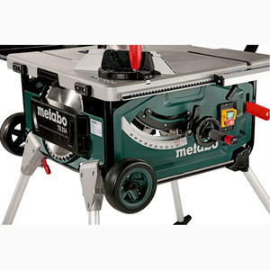 Metabo Table Saw With Stand & Trolley - TS254