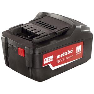 Metabo 18V 5.2Ah Battery - 321000350