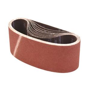 Norton Abrasives 75mm x 533mm Metalite Cloth Sanding Belts 60 Grit- 10 Pack