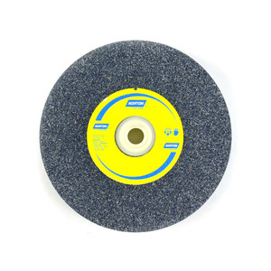 "Norton Abrasives 200mm x 25mm (8"") General Purpose Bench Grinding Wheel - Aluminium Oxide - Fine"