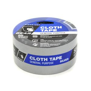 Norton Abrasives 15m x 50mm Cloth Tape - Silver