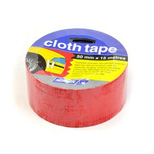 Norton Abrasives 15m x 50mm Cloth Tape - Red
