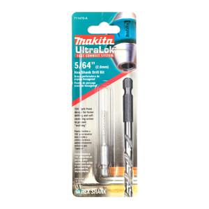 """Makita 5/64"""" (2.0mm) Hex Shank High Speed Steel Drill Bit"""