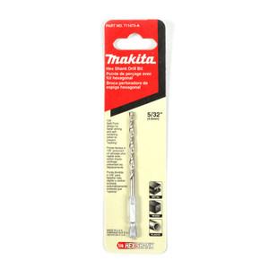 """Makita 5/32"""" (4.0mm) Hex Shank High Speed Steel Drill Bit"""