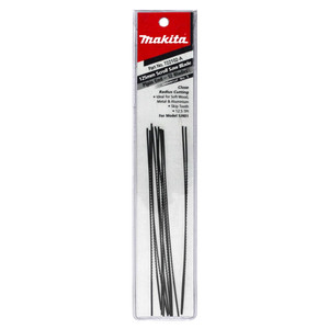 Makita Scroll saw Blades - 12.5TPI with Plain End - 12 Pack