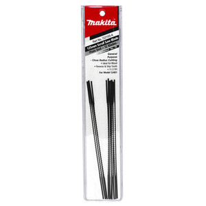 Makita Scroll saw Blades - 11.5TPI with Plain End - 12 Pack