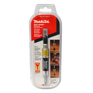 Makita 'Quad-Driver' Drill/Countersink & Driver Bit No. 12 - 12 Gauge Screws