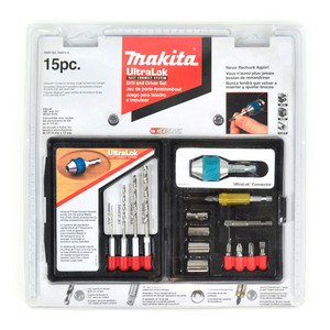 Makita 15 Piece ULTRALOK Drill & Driver Set - 784874-A