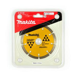 Makita 115mm Segmented Concrete & Marble Diamond Blade - 22mm Bore