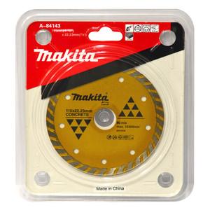 Makita 115mm Turbo Rim Concrete & Marble Diamond Blade - 22mm Bore