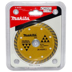 Makita 105mm Turbo Rim Concrete & Marble Diamond Blade - 20mm Bore