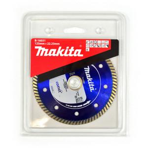 Makita 125mm Comet Turbo Rim Premium Bricks & Granite Diamond Blade - 22mm Bore