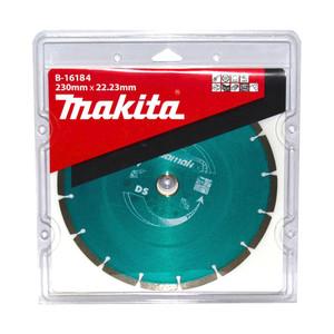 Makita 230mm Diamak Segmented Bricks & Concrete Diamond Blade - 22mm Bore