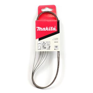 Makita 9mm x 533mm Sanding Belts 150 Grit - 5 Pack