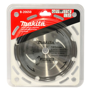 Makita Specialized 185mm 4 Tooth PCD Fibre Cement Saw Blade - 20mm Bore