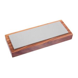 Eze-Lap 50mm x 150mm Fine Grit - Single Sided Diamond Sharpening Plate On Wood Block - 61F