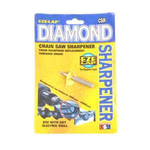 "Eze-Lap 3/16"" Diamond Chainsaw Threaded File - CSR3/16"