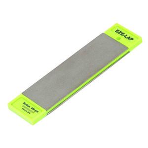 Eze-Lap 50mm x 150mm Super Fine & Medium Grit - Double Sided Diamond Sharpening Plate - DD6SF/M