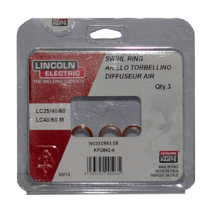 Lincoln Electric Swirl Ring To Suit LC25 Pack of 3 - W03X0893-5R