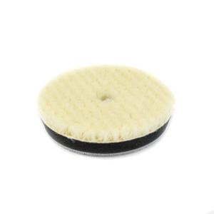 80mm Velcro Wool Buff Pad