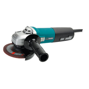 """Makita 1400W 125mm(5"""") Angle Grinder With Deadman Switch - 9565CN"""