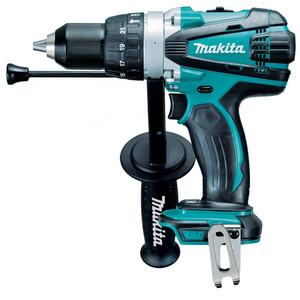 Makita 18V Heavy Duty Hammer Drill Driver 'Skin' - Tool Only - DHP458Z