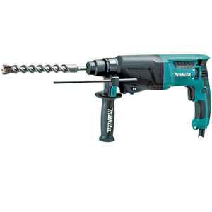 Makita 800W 26mm SDS Plus Type Shank 3 Mode Rotary Hammer - HR2610