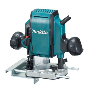 """Makita 900W 9.5mm(3/8"""") Plunge Router - RP0900X1"""