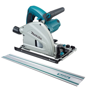 Makita 1300W 165mm Plunge Cut Circular Saw With 1400mm Guide Rail - SP6000JT
