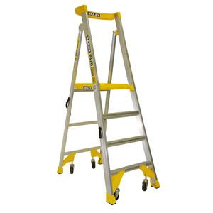 Bailey 1.2m 4 Step P170 Aluminium Job Station 170kg Rated - FS13539