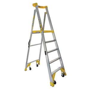 Bailey 1.5m 5 Step P170 Aluminium Job Station 170kg Rated - FS13540