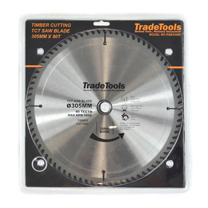 TT 305mm 80 Tooth TCT Circular Saw Blade For Wood Cutting