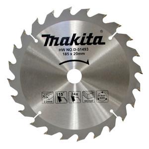 Makita Economy 185mm 24 Tooth TCT Saw Blade - 20mm Bore