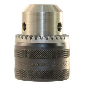 "Milwaukee 1.5mm-13mm Metal Geared Chuck With Key - 1/2"" x 20 Thread"