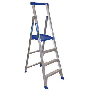 Bailey 1.2m 4 Step Platform Ladder P150 - 150kg Rated - FS13581