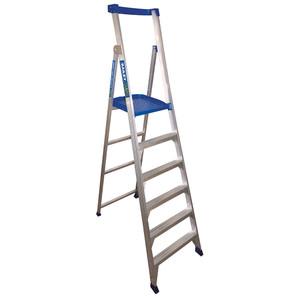 Bailey 1.8m 6 Step Platform Ladder P150 - 150kg Rated - FS13583