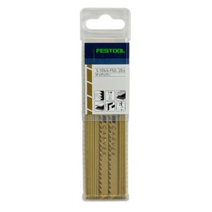 Festool 105mm x 4mm Pitch Special Wood Jigsaw Blades S 105/4 FSG - 20 Pack