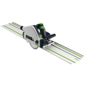 Festool TS 55R 160mm 1200 Watt Plunge Cut Circular Saw with 1400mm Guide Rail - 561655