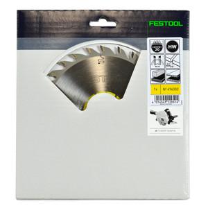 Festool 160mm 28 Tooth Universal Wood Circular Saw Blade - 20.0mm Bore