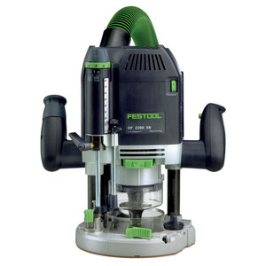 Festool OF 2200 EB-Plus 2200 Watt Plunge Router in Systainer