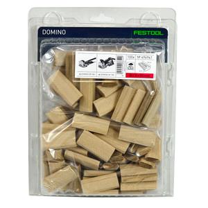 Festool 8mm x 50mm DOMINOs - Beech - 100 Pack