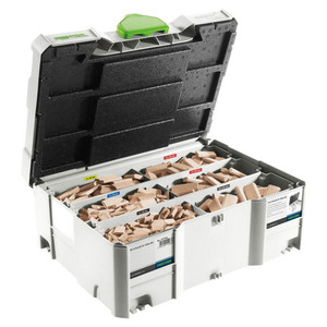 Festool DOMINOs 4-10mm Starter Kit in Systainer - Beech