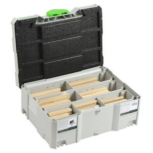 Festool DOMINOs XL 12mm/14mm Starter Kit in Systainer - Beech